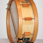 """snaredrum classic select maple, wodhoop and double strainer systems, 14x5"""""""