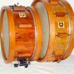 "classic select pear, 12x6""; classic select birdseyemaple, 14x5"""