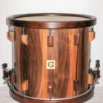 """maching drum classic nut width woodhoop and double strainer system, 14x13"""""""