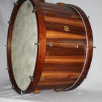 concert bass drum nut, 34x17""