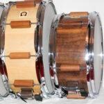 """snaredrum classic birch, 6x14""""; snaredrum classic nut, 6x12"""""""