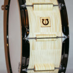 "classic select maple 14x6"" with blackhoops and special lugs"
