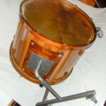 "convert bass drum classic nut, 32x22"", stand and calfo head"