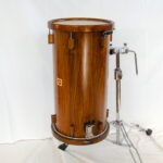 """tamburo provenionale, classic nut with woodhoops, 24x12"""""""