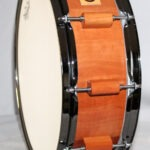 mighty pear 14x5 with extra black steelhoops