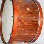 concert bass drum classic nut, 34×18″